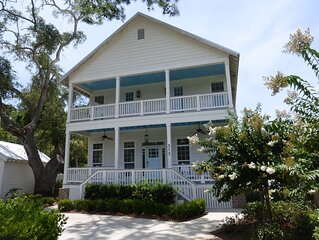 Luxurious new listing...Sleeps 10 but comfy for 2! 2 minute walk to the beaches!