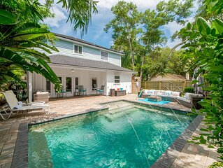 Majestic Retreat with Private Heated Pool and Backyard Oasis, Pet Friendly