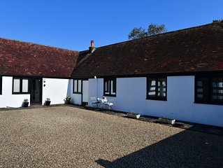 Spacious New Forest 3 bed holiday cottage