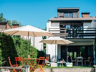 Haus mit eigenem Bootsliegeplatz am Genfer See, Port Ripaille