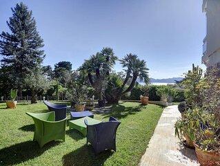 T3 - Superbe vue mer, jardin privatif 520 m2