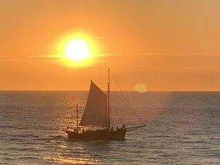 Gite en front de mer. Vue exceptionnelle