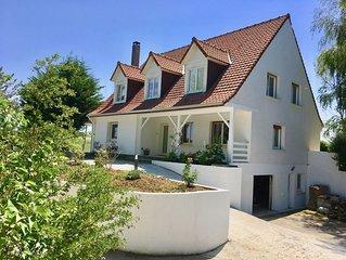 Belle villa 5 chambres à Wissant, en retrait et proche de tout
