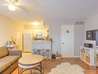 Cozy, convenient condo in the heart of Fort Worth's cultural district