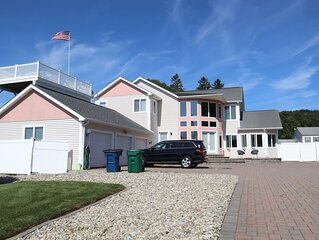 NEW LISTING! Luxury retreat on the Long Island Sound