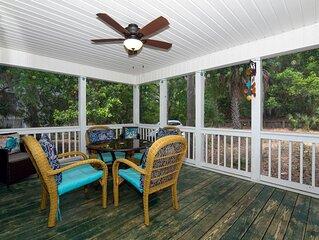 Set & Drift - Beautiful Resort Duplex; Screened Porch; Easy Beach Access