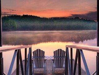Lake James Country-style Lake House - Deep Cove, Pool, Screen Porch, Kayaks&SUP!