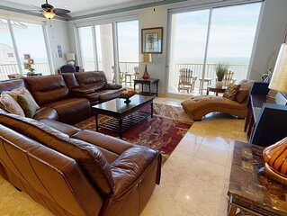 Stunning 5 Bedroom Condo With Direct Gulf Views!