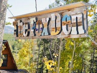 A gorgeous mountain couple's retreat in beautiful Evergreen, Colorado