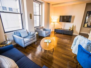 FREE PARKING | 2B/2BA New Luxury Apartment | Vintage Building, Rooftop Deck & Gy