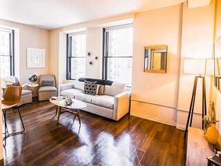 FREE PARKING | 2B/2BA Immaculate Apartment | Historic Building, Rooftop Deck & G