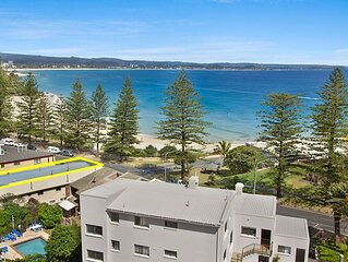 Pacific View Unit 2  Ground floor unit located on Beachfront in Rainbow Bay Cool