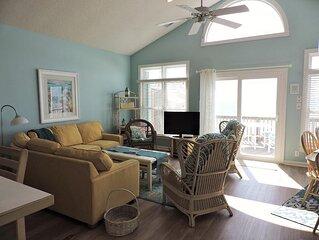 Oceanfront 4 Bedroom, 3 Bath Duplex