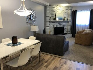 Fabulous 4 BR Centrally Located 5 mins to Downtown and close to Trans Canada Hig