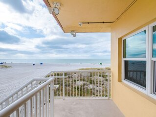 Direct Beach Second Floor - Updated & Only Steps to Beach - Great Beach Views