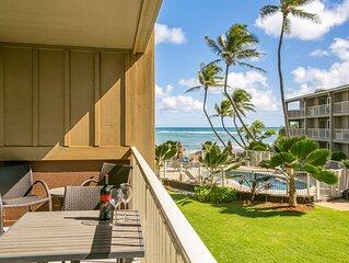Ocean Breeze Kapaa Condo w/Pool and beach Views! (211-2)
