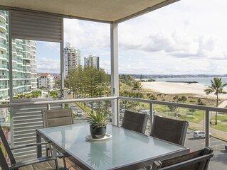 Sands on Greenmount Unit 5- Coolangatta Beachfront 3 Bedroom beachfront Apartmen