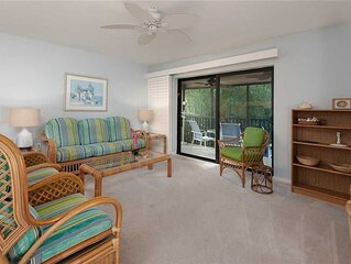 Tropical Garden View 2 bedroom, 2 bath at Sanibel Moorings Resort #622