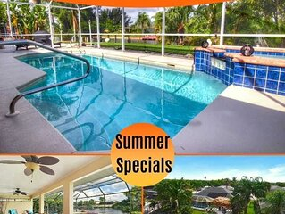 41% OFF! SWFL Rentals - Villa Butterfly - Lovely Home Located on Freshwater Cana