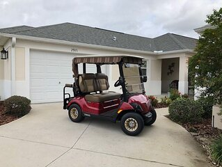 AWESOME GOLF CART PET FRIENDLY WITH LAKE VIEW