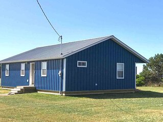 The cottage is perfect for your PEI beach vacation, made for families, sleeps 9.