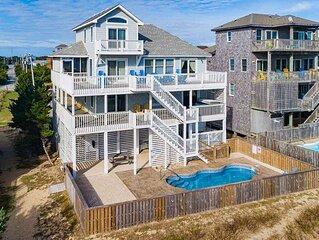 Summer Dream - Well-loved 5 Bedroom Oceanfront Home in Salvo
