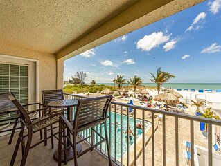 Direct Beach Front Unit - Many Upgrades, Sweeping Gulf & Beach Views from Priva