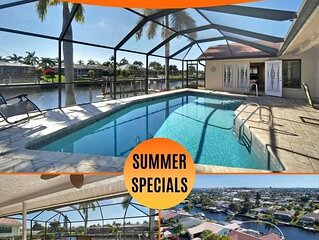 26% OFF! SWFL Rentals - Villa Connie - Beautiful Gulf Access Pool Home
