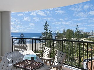 Calypso Tower Unit 807 Three bedroom apartment beachfront in central Coolangatta