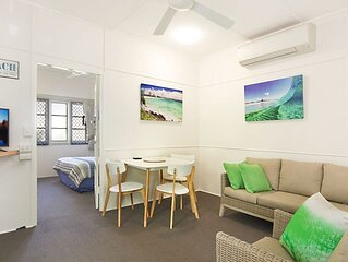 Tondio Terrace Flat 2- Budget and family friendly accommodation Rainbow Bay Cool