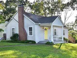 Winston-Salem Home Close to Downtown w/ Large Yard, Open Kitchen, Pro Cleanings