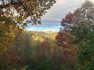 Majestic Mountain View Cabin
