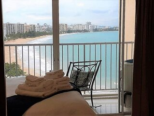 ESJ MARE JR ONE BEDROOM♥ Beachfront★Top Location★ View★Lux