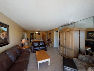 Beach View Value Priced Unit on Madeira Beach Across from John's Pass Village &