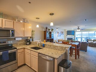 Ledges Condominium w/ Main Channel View Screened Deck! Docks, Pool, Beach, Wi-Fi