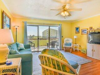 Surf Condo 414 -  Scenic Ocean View, Simple Design, Pool, Beach Access, Onsite