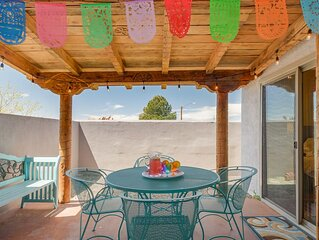 Lobo House - Colorful Mexican decor best describes this wonderful property !!
