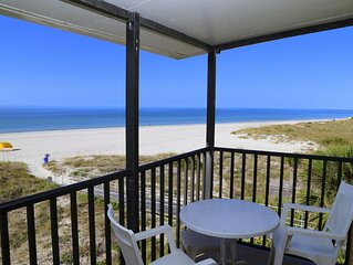 Direct Beach Front Balcony Corner Unit Top Floor
