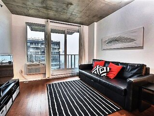 #301 Studio Great Location with Balcony Downtown