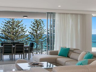 The Garland Unit 702- Brand New Luxury Beachfront Rainbow Bay - 'The Garland'