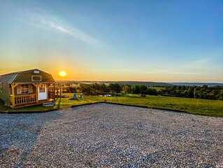 *NEW* BUFFALO RIVER VALLEY VIEWS-5MIN FROM PONCA! 'TINY CABIN'