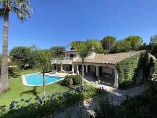 Luxury Villa with private pool near Cannes