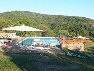 Ferienhaus Pratovecchio für 6 Personen mit 3 Schlafzimmern - Bauernhaus