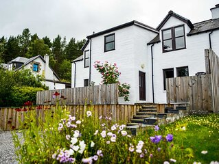 Newly refurbished traditional house in the Cairngorms National Park