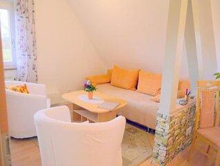 Ferienwohnung Freiburg für 2 Personen mit 1 Schlafzimmer - Penthouse-Ferienwohnu