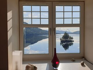 Apartment in historic house with stunning views over Loch Katrine