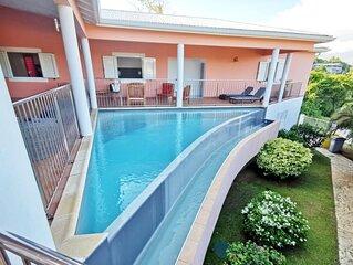 Villa M062 au Marin 3 chambres piscine privee