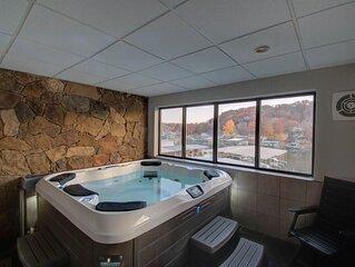 Spacious Condo with in condo private Hot Tub