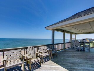 Wonderful Oceanfront Home with Unobstructed Ocean Views!