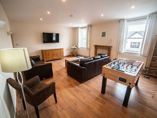Keswick centre spacious and modern 3 bed apartment plus sofa bed